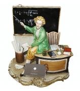 Фарфоровая статуэтка «Школа. Учитель»