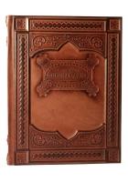Кожаная книга А.С. Пушкин «Пиковая дама»