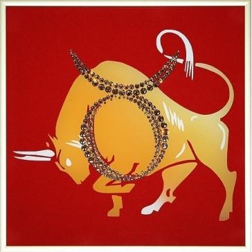 Картина Сваровски «Знак Зодиака Телец»