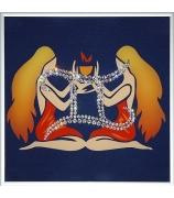 Картина «Знак Зодиака Близнецы»