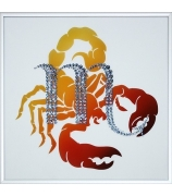 Картина «Знак Зодиака Скорпион»