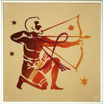Картина Сваровски «Знак Зодиака Стрелец»