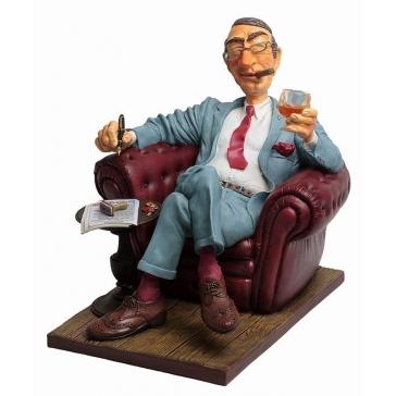 Коллекционная статуэтка «Большой босс», Forchino (Форчино), Франция.