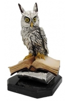 Статуэтка «Филин на книгах»