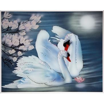 Картина «Пара лебедей»