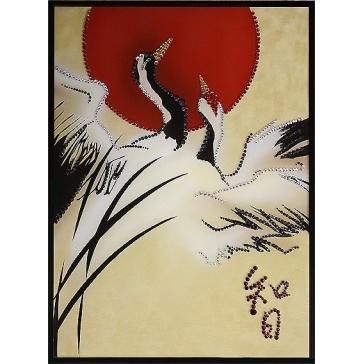 Картина Сваровски «Мудрость Востока»