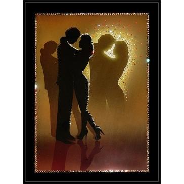 Картина Сваровски «Влюбленные»