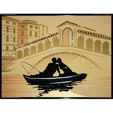 Картина Сваровски «Романтическое путешествие»