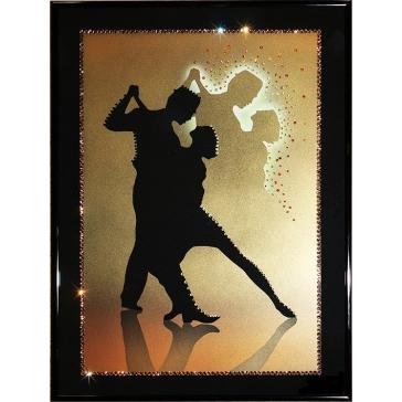 Картина Сваровски «Танго влюбленных»
