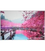 Картина «Цветущая сакура»