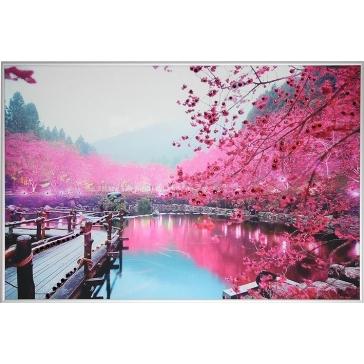Картина Сваровски «Цветущая сакура»
