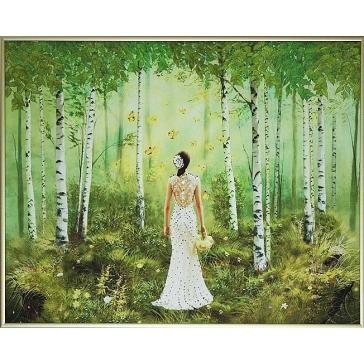 Картина Сваровски «Краски лета»