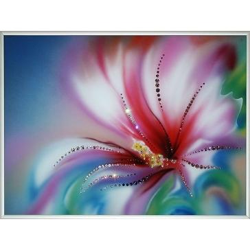 Картина Сваровски «Аленький цветочек»