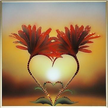 Картина Сваровски «Природа любви»
