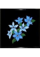Картина «Голубые незабудки»