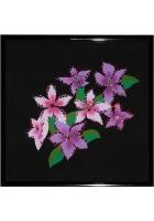 Картина «Розовые незабудки»