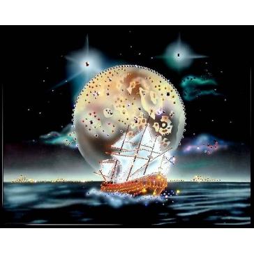 Картина Сваровски «Морской пейзаж»