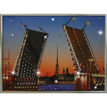 Картина «Дворцовый мост»
