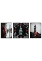 Панно с часами «Лондон»