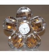 Настольные часы «Хрустальный цветок»