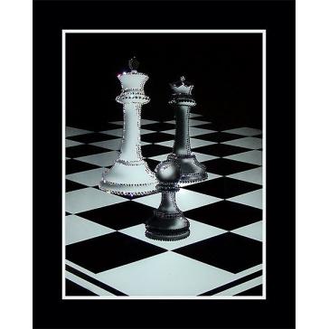 Картина Сваровски «Шахматы»