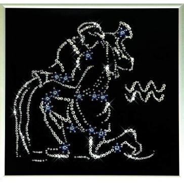Картина Сваровски «Звездный водолей»
