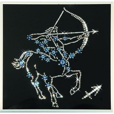 Картина со стразами Сваровски «Звездный стрелец»