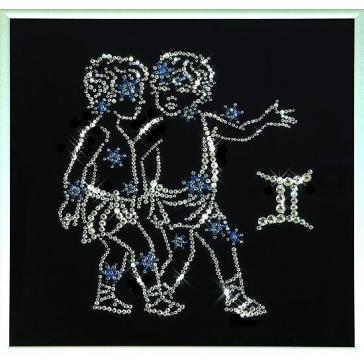 Картина Сваровски «Звездные близнецы»