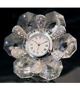 Настольные часы «Очарование цветов»