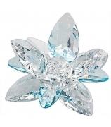 Хрустальный цветок «Лилия голубая»