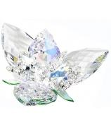 Хрустальный цветок «Королевский», хризолит