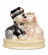 Фарфоровая статуэтка «Совет да любовь»