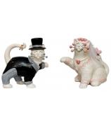 Набор из 2-х фигурок «Жених и невеста»