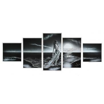 Модульная картина Сваровски «Морская нимфа»