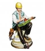 Фарфоровая статуэтка «Электрик»