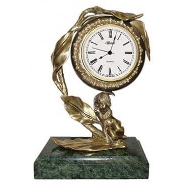 Часы из бронзы «Нежность»