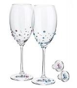 Набор бокалов для вина и шампанского «Crystal»