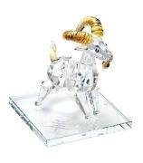 Хрустальный сувенир «Символ 2015 года — Коза»