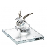 Хрустальный сувенир «Подарок Козерогу»