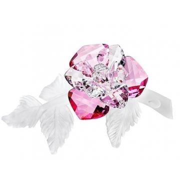 Хрустальный цветок «Красная роза»