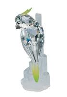 Хрустальная статуэтка «Попугай»