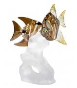 Хрустальная статуэтка «Рыбки»
