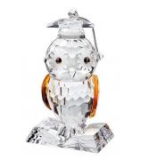 Хрустальная фигурка «Мудрая сова»