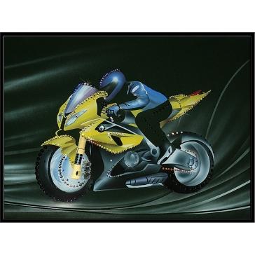 Картина «Мотоцикл БМВ»