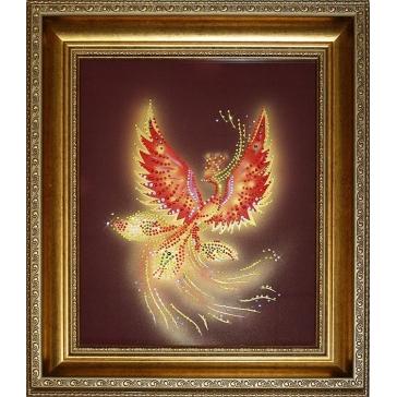 Картина Сваровски «Птица счастья»