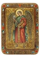 Живописная икона «Архангел Гавриил»