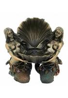 Статуэтка шкатулка «Русалки с ракушкой»