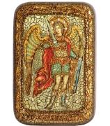 Икона «Архангел Михаил» в подарочной шкатулке