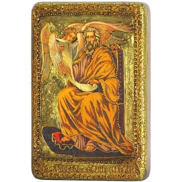Икона «Святой апостол и евангелист Матфей» в деревянной шкатулке