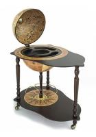 Напольный глобус-бар со столиком «Микеланджело»